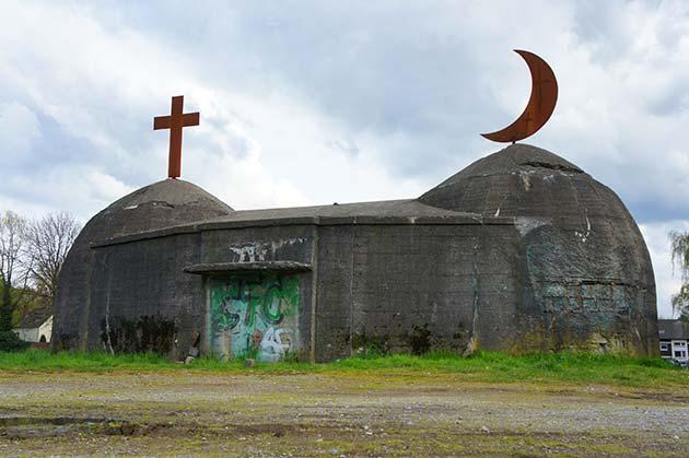 Bunker Crange als Symbol der Integrationintegration